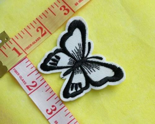 Sew On| iron on |Applique Motif  | Butterfly B 04